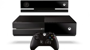 The Microsoft One Xbox One, controller and Kinect. Image courtesy of www.trustedreviews.com